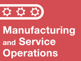 This course prepares students in the basics of manufacturing and service operations and their role within an organization's overall supply chain.