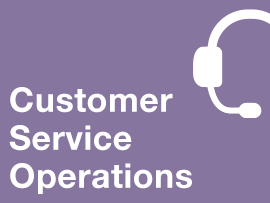 This course prepares students in the basics of customer service operations and the role of customer service within an organization's overall supply chain.
