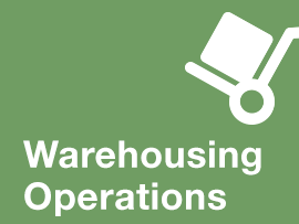 Structured to prepare entry-level and supervisory-level employees in warehouse operations with a fundamental understanding of the physical, technological, process, and safety considerations of warehouse/distribution operations.