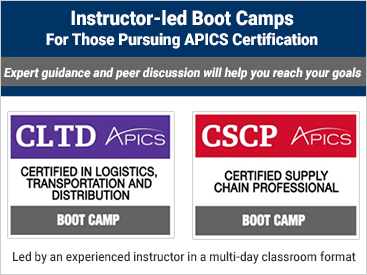 Link to APICS Boot Camps overview