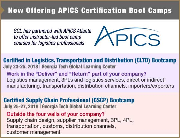 APICS Certification Boot Camps
