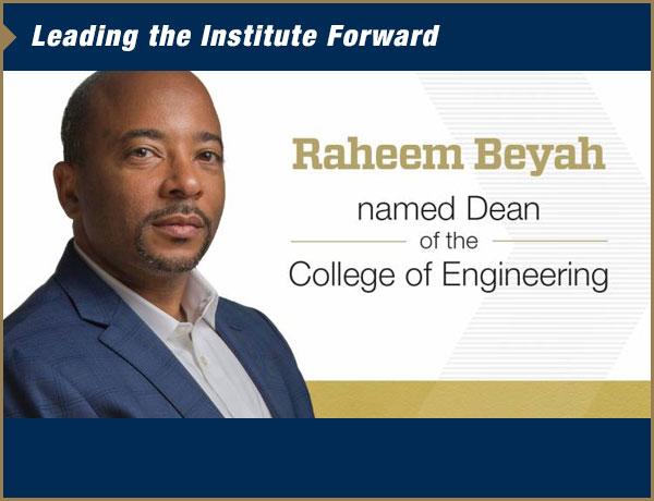 Raheem Beyah named Dean of the College of Engineering