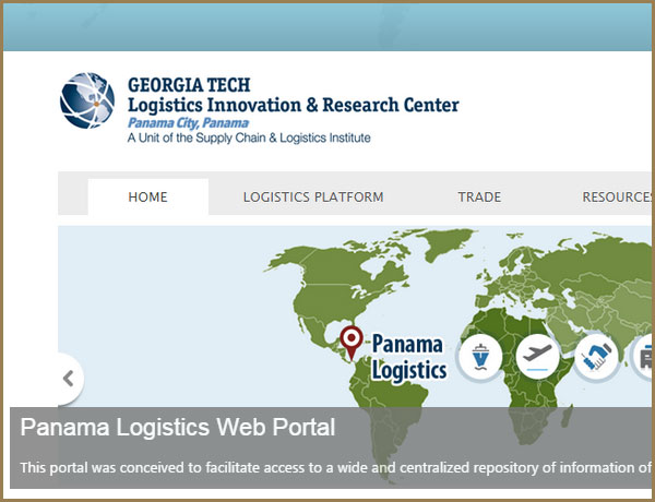Visit the Georgia Tech Panama Logistics Innovation and Research Center website
