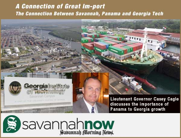 Casey Cagle: A connection of great im-port