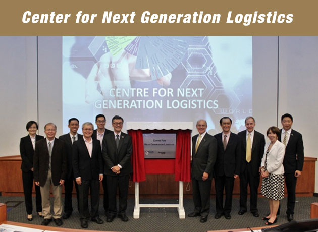 Georgia Tech, in collaboration with The National University of Singapore, officially launched the Center for Next Generation Logistics