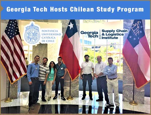Georgia Tech Hosts Chilean Study Program