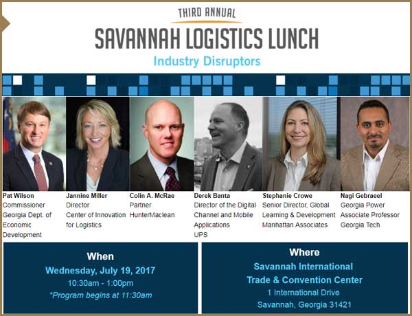 2017 Savannah Logistics Lunch