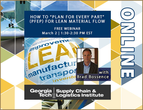 "How to ""Plan For Every Part"" (PFEP) for Lean Material Flow webinar"