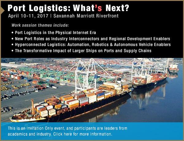 2017 Port Logistics Workshop