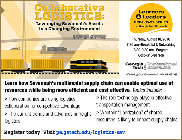 Collaborative Logistics - Learners and Leaders Breakfast Series