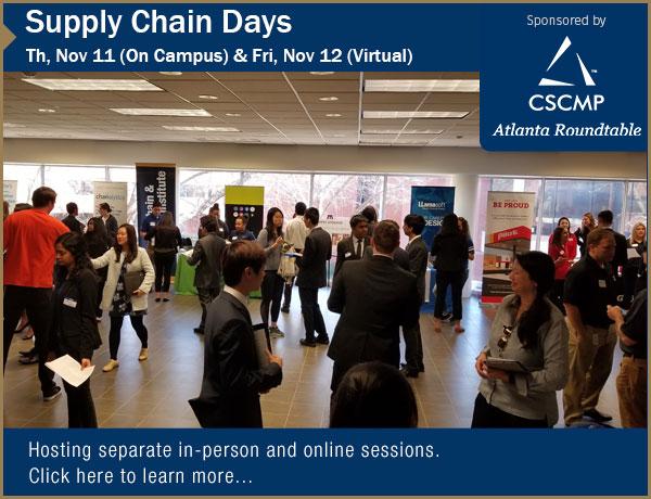 Upcoming Supply Chain Days