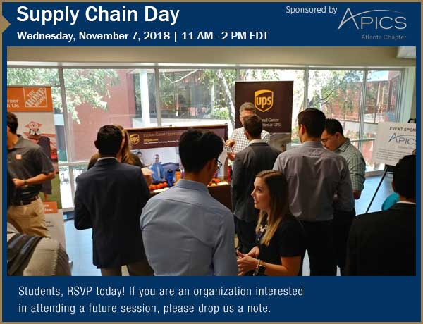 Upcoming Supply Chain Day