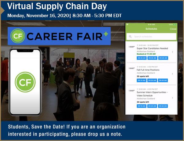 Upcoming Virtual Supply Chain Day