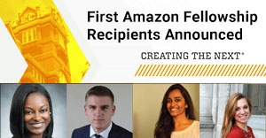 Amazon Fellowship Recipient Announcement