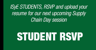 Students, click here to RSVP for our next Supply Chain Day
