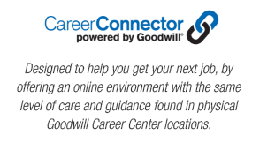 Visit the Goodwill Career Connector website