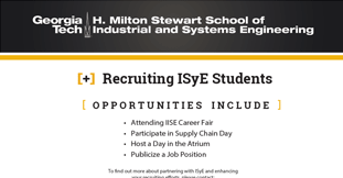 Recruiting ISyE Students