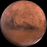 Mars, where NASA plans to eventually establish a base for astronauts to live long-term.