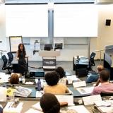 HHSCM Program Director Pinar Keskinocak Teaching
