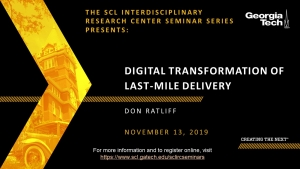 Digital Transformation of Last-Mile Delivery