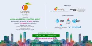 3rd Annual Georgia Innovation Summit 2018
