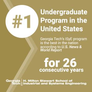 ISyE Undergraduate Rankings