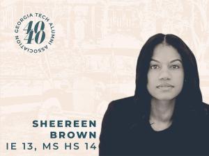 Sheereen Brown, IE 13, MS HS 14