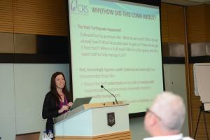 CRS presentation- Workshop at 2013 HHL Conference