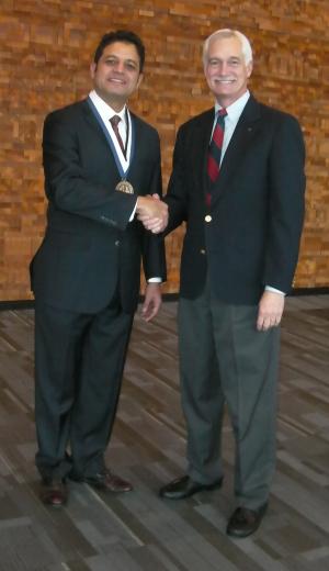 Dario Solis, recipient of the 2010 ASME McDonald Mentoring Award