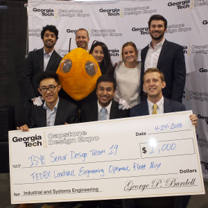 ISyE Capstone Winners: Senior Design Team FedEx Fleet Mix