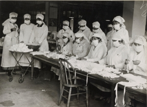 1918-19 Spanish flu Red Cross