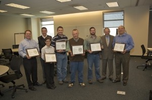 GTSCL LEAN certificate holders - June 2010