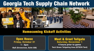 GT Supply Chain Network Kickoff Activities