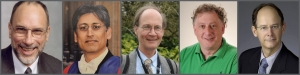 2016 Golden Goose Winners: ISyE's John Bartholdi III, Kognitio's Sunil Nakrani, Cornell University's Thomas Seeley, ISyE's Craig Tovey and John Vande Vate