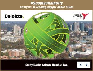 #SupplyChainCity Report Ranks Atlanta Number Two