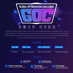 SCL Partners with JD.com to conduct Global Optimization Challenge