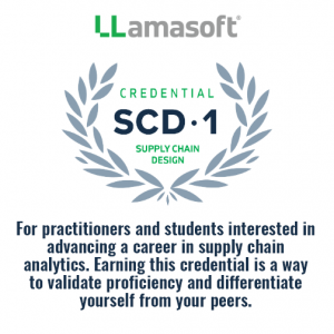 Supply Chain Design – Level 1 Credential