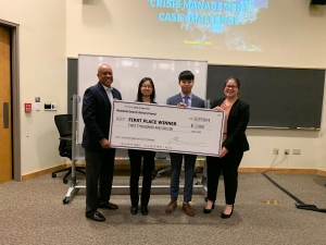 Presenter Team Homeland Security Challenge Wins with Panel