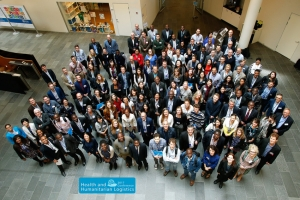 2017 Health and Humanitarian Logistics Conference  Group Photo