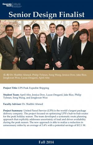 ISyE UPS Senior Design Team