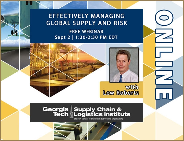 Global Supply Chain Risk webinar