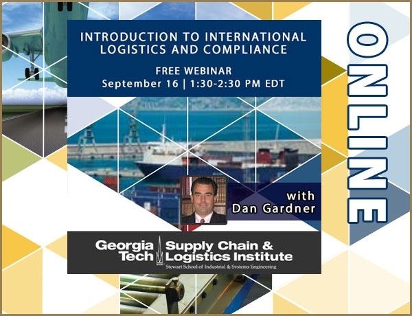 Free Introduction to International Logistics and Compliance webinar