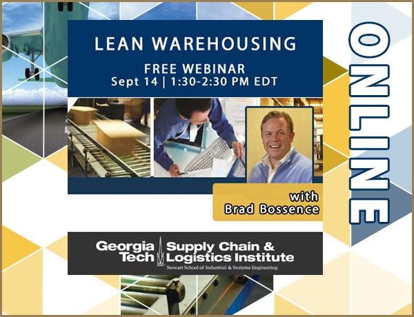 Free Lean Warehousing webinar