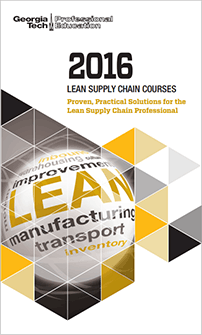 Download the LEAN Course Series brochure
