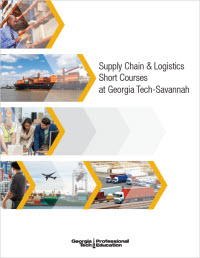 Supply Chain & Logistics Courses at Georgia Tech Savannah
